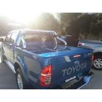 Toyota Hilux Double Cab 3 pce Flat Top+ NEW Design!! +(Auto Remote)