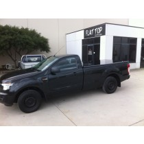 Ford Ranger PX +Single Cab Flat Top (No Sports Bars, Painted)with luggage racks incl