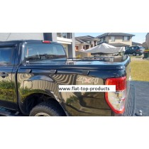 "Ford Ranger Dual cab PX - 1 pce lid - ""Painted manual  Locking"""